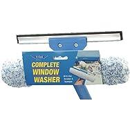 Ettore 15010 Complete Window Washer-SCRUBBER/SQUEEGEE