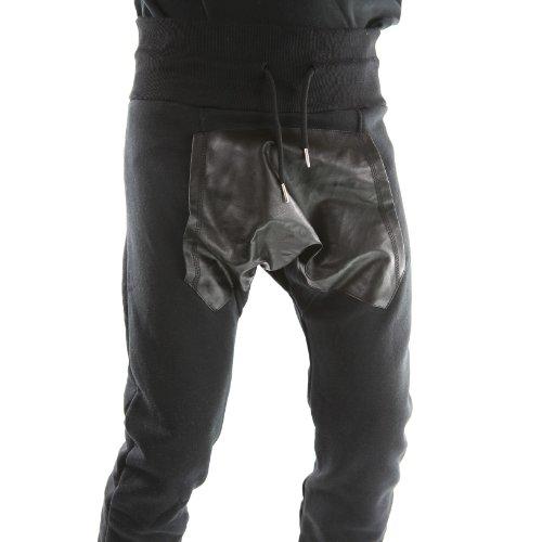 malboro-men-bk-pantalones-harem-pantalones-cuero-efecto-gangster-unidad-marlboro-unisex-negro-negro-