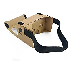 NGConnext CVR-47 Assembled 3D Cardboard VR Virtual Reality Glasses Headset with Magnetic Switch for Smart Phones - Inspired by Google Cardboard
