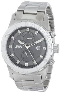 JBW Men's J6285B Multi-Function 12 Diamonds Metal Watch
