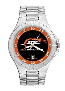 Dale Earnhardt Jr. Jr. Nation Mens Pro II Watch with Stainless Steel Bracelet by Nascar Officially Licensed
