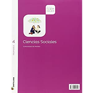 CIENCIAS SOCIALES MADRID + ATLAS 4 PRIMARIA