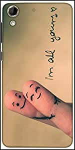 Snoogg Im All Yours Designer Protective Back Case Cover For HTC Desire 728