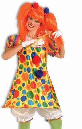 Forum Novelties Inc Women's Giggles The Clown Adult Costume