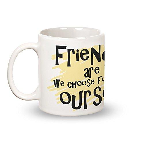 Posterboy 'Friends Family' Round Ceramic Mug