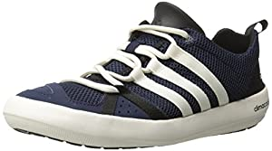 Adidas Climacool Boat Lace Shoe - Men's Collegiate Navy / Chalk / Black 8.5