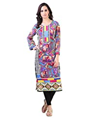Libas Women's Printed Straight Kurta