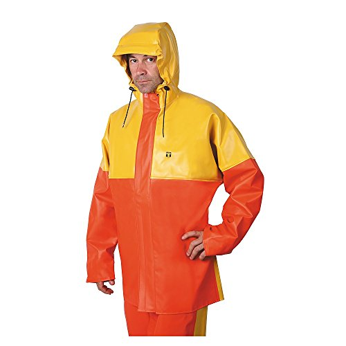 Guy Cotten Jacke X-Trapper gelb / orange Größe S, M, L, XL ,2XL und 3XL (L)