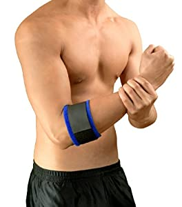 Bracoo Adjustable Tennis/golf Elbow Strap, One Size