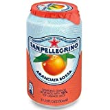 San Pellegrino Sparkling Blood Orange 11.15-Ounce Can (Pack of 24)