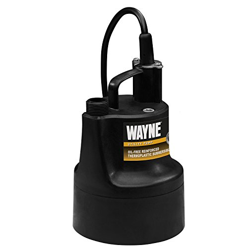 WAYNE GFU110 Portable, Light Duty, Electric Water Removal Pump (Wayne Portable Pump compare prices)