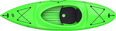 90526 Emotion Darter Sit-Inside Kayak, Lime Green, 9' from Lifetime OUTDOORS
