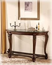 Hot Sale Traditional Dark Brown Norcastle Sofa Table