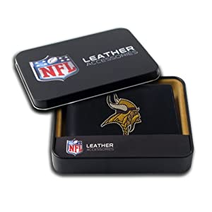 NFL Minnesota Vikings Embroidered Billfold by Rico