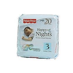 Fisher-Price Night Diapers Jumbo Pack - Size 3 20ct.