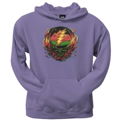 Old Glory Mens Grateful Dead - Scarlet SYF Pullover Hoodie - 2X-Large Purple