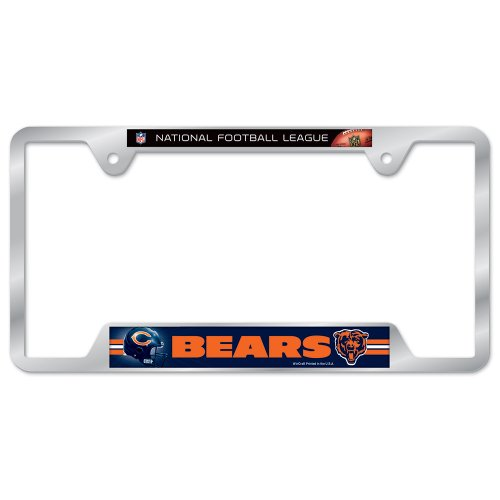 Chicago Bears Metal License Plate Frame - NFL