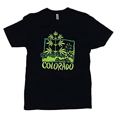 Grown in Colorado Cannabis T-shirt