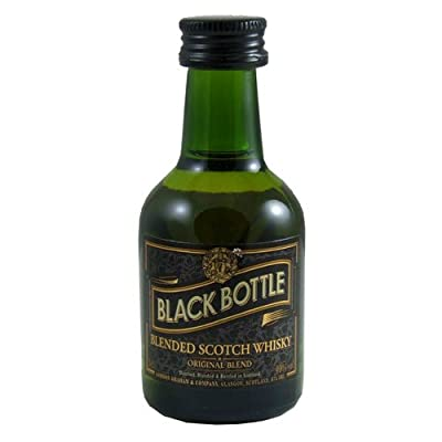 Black Bottle Blended Scotch Whisky 5cl Miniature from Black Bottle