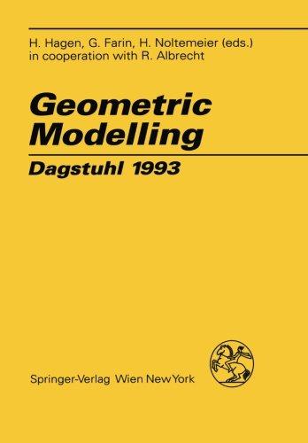 Geometric Modelling: Dagstuhl 1993 (Computing Supplementa) [H. Hagen - Gerald E. Farin] (Tapa Blanda)