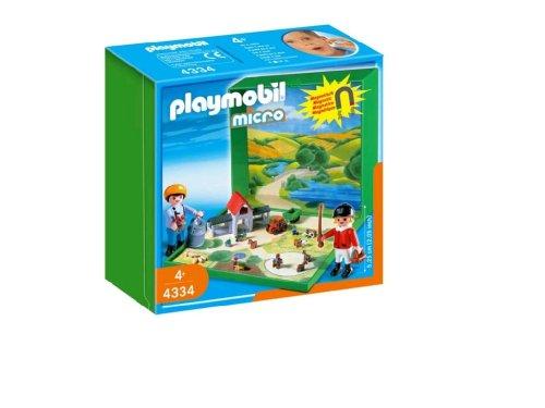 PLAYMOBIL® 4334 - MicroWelt Bauernhof