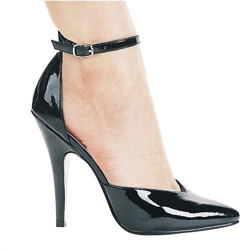 Ellie Shoes - 511 Bess 5 Inch Ankle Strap Pump,