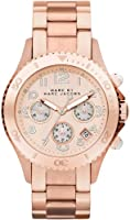 Marc by Marc Jacobs Stainless Steel Pink Dial Quartz Unisex Watch - MBM3156 by Marc by Marc