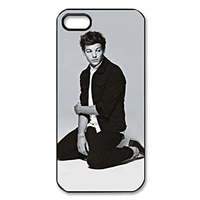 CTSLR Music & Singer Series Protective Hard Case Cover for iPhone 5 - 1 Pack - One Direction - Louis Tomlinson 1