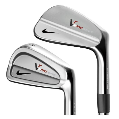 Nike Victory Red Pro Combo Forged Iron Set (3 thru PW) : right, True Temper Dynamic Gold Steel (Stiff)