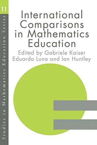 International Comparisons in Mathematics Education (Studies in Mathematics Education Series)
