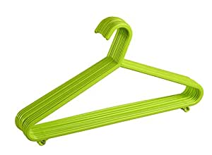 All Time Polymer Hanger (Green, Set of 12)