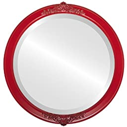 Athena Circle in Holiday Red