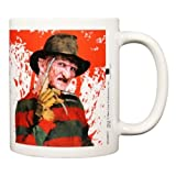 A Nightmare On Elm Street Ceramic Freddy Krueger Mug