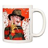 A Nightmare On Elm Street Ceramic Freddy Krueger Mug