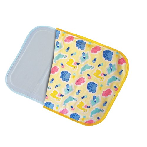 Slumber Ease Refreshing Baby Pad, Pink/Blue Pattern, 11.8 X 15.75