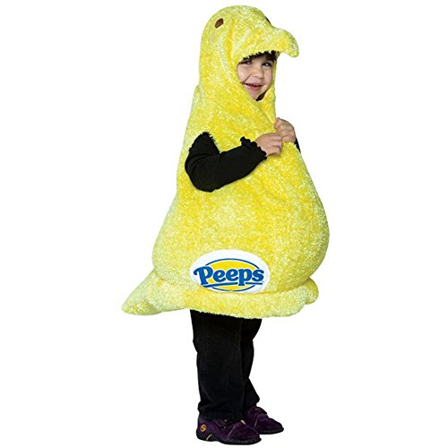 Toddler Peeps Candy Costume (Size: 2-4T)