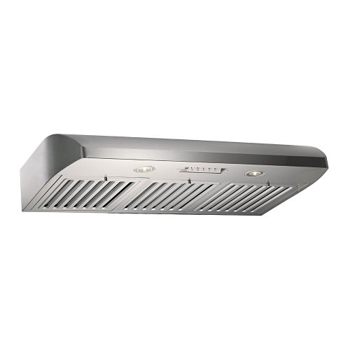 Contemporary Range Hood front-27560