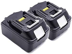 ◆1年長期保証◆2個セット マキタ MAKITA 互換バッテリー BL1850 Samsungセル搭載 【ノーブランド品】 (18V  5000mAh (5.0Ah))