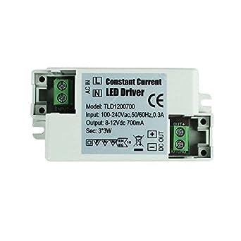 LED Trafo Driver Treiber Vorschaltgerät Netzteil 230V 12V 5A 60W Wasserdicht
