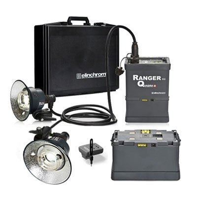 Elinchrom Ranger Quadra RX 2 Head 'A' Kit
