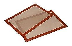 Ziaon (TM) Premium Non-stick Silicone Baking Mat 2 Pack (42*28 CM)