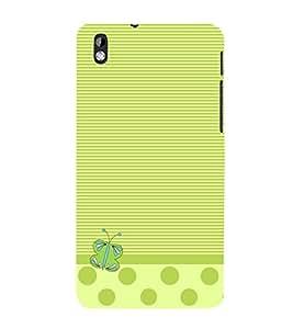 Butterfly Lines 3D Hard Polycarbonate Designer Back Case Cover for HTC Desire 816::HTC Desire 816 G::HTC Desire 816D::HTC Desire 816G (Octa Core)
