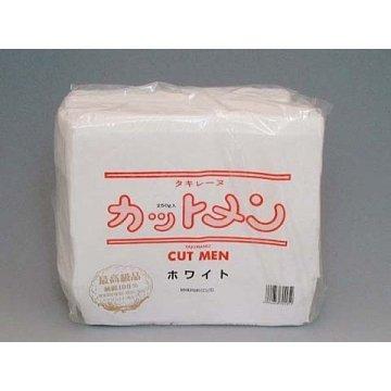 滝川 タキレーヌ カットメン ホワイト 700枚入 5×6cm 純綿100%250g