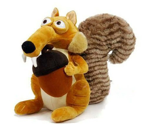 "1 X Ice Age-3 Plush 7.9"" /20cm Scrat Squirrel Doll Stuffed Animals Figure Soft Anime Collection Toy - 1"