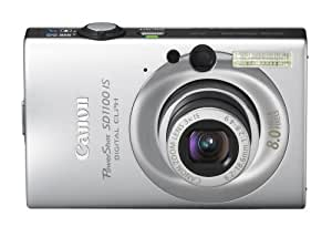 Canon PowerShot SD1100IS 8MP Digital Camera with 3x Optical Image Stabilized Zoom (Silver)