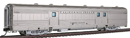 Broadway Limited HO Scale California Zephyr Baggage Car CB&Q #905 Silver Coyote BLI-1491
