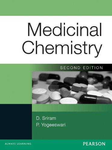Medicinal Chemistry, by D. Sriram, P. Yogeeswari