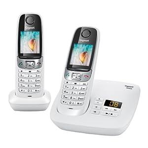 Gigaset C620 A DUO Téléphones Sans fil Répondeur Ecran Blanc