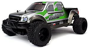 Velocity Toys FX Blazer Remote Control RC Truck, High Performance Lithium Battery, Big Size 1:10 Scale RTR w/ Working Spring Suspension