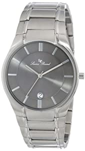 Lucien Piccard Men's LP-10607-104 Davos Grey Dial Stainless Steel Watch